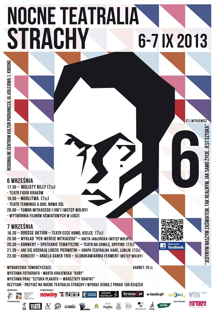 Nocne Teatralia Strachy 2013 - plakat