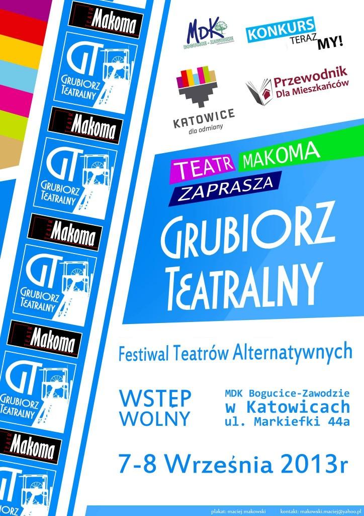 Grubiorz Teatralny Plakat