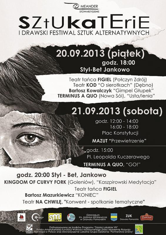 Sztukaterie - I Drawski Festiwal Sztuk Alternatywnych