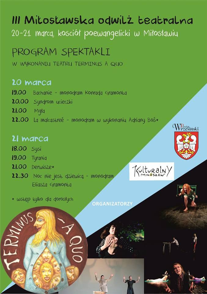 Plakat Miłosław