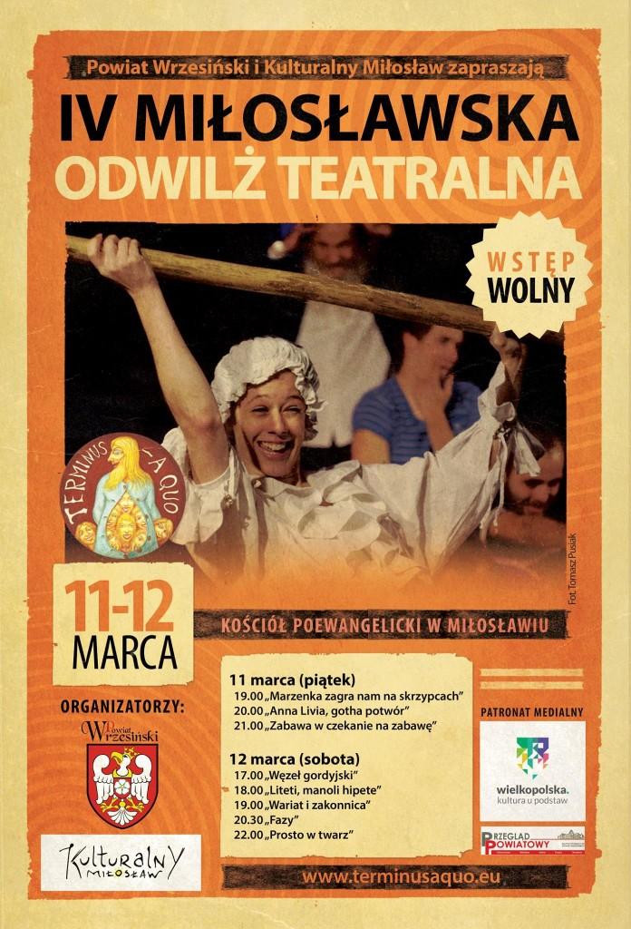Miloslawska Odwilż  Teatralna 2016
