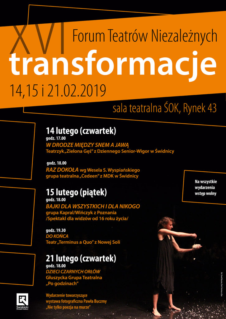 """Forum Teatrów Niezależnych """"Transformacje"""""""
